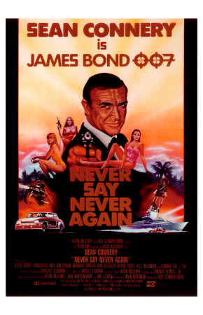 If you haven't seen Sean Connery in 'Never Say Never Again' then you haven't seen James Bond 007!