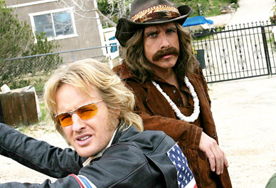 Hey, Isto é o Starsky & Hutch, não o Easy Rider. Raios parta a Droga