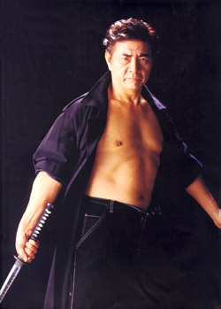 sho kosugi with sword